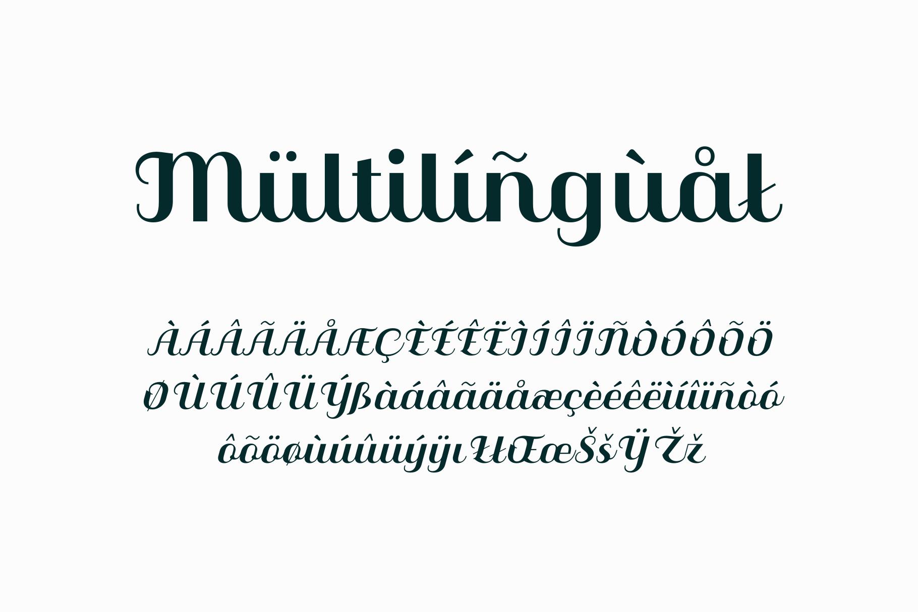Qilla Typeface example image 12