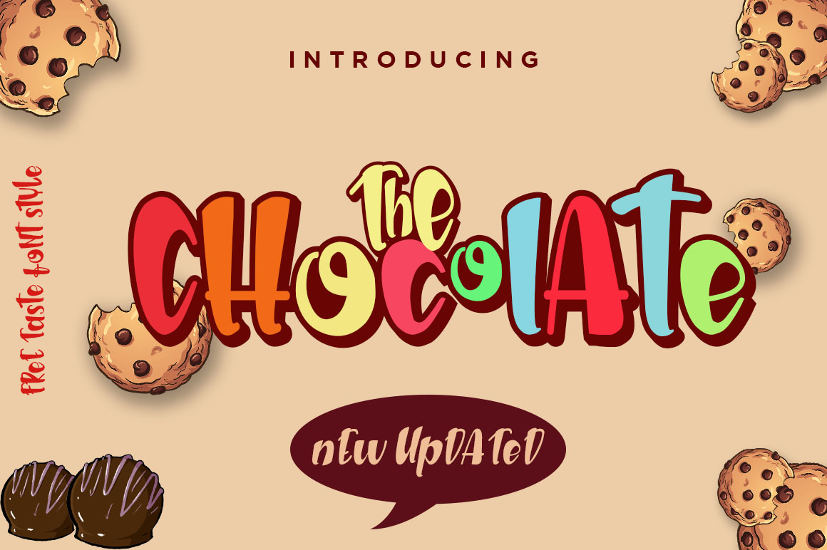 The Chocolate // New Fresh Updated example image 1