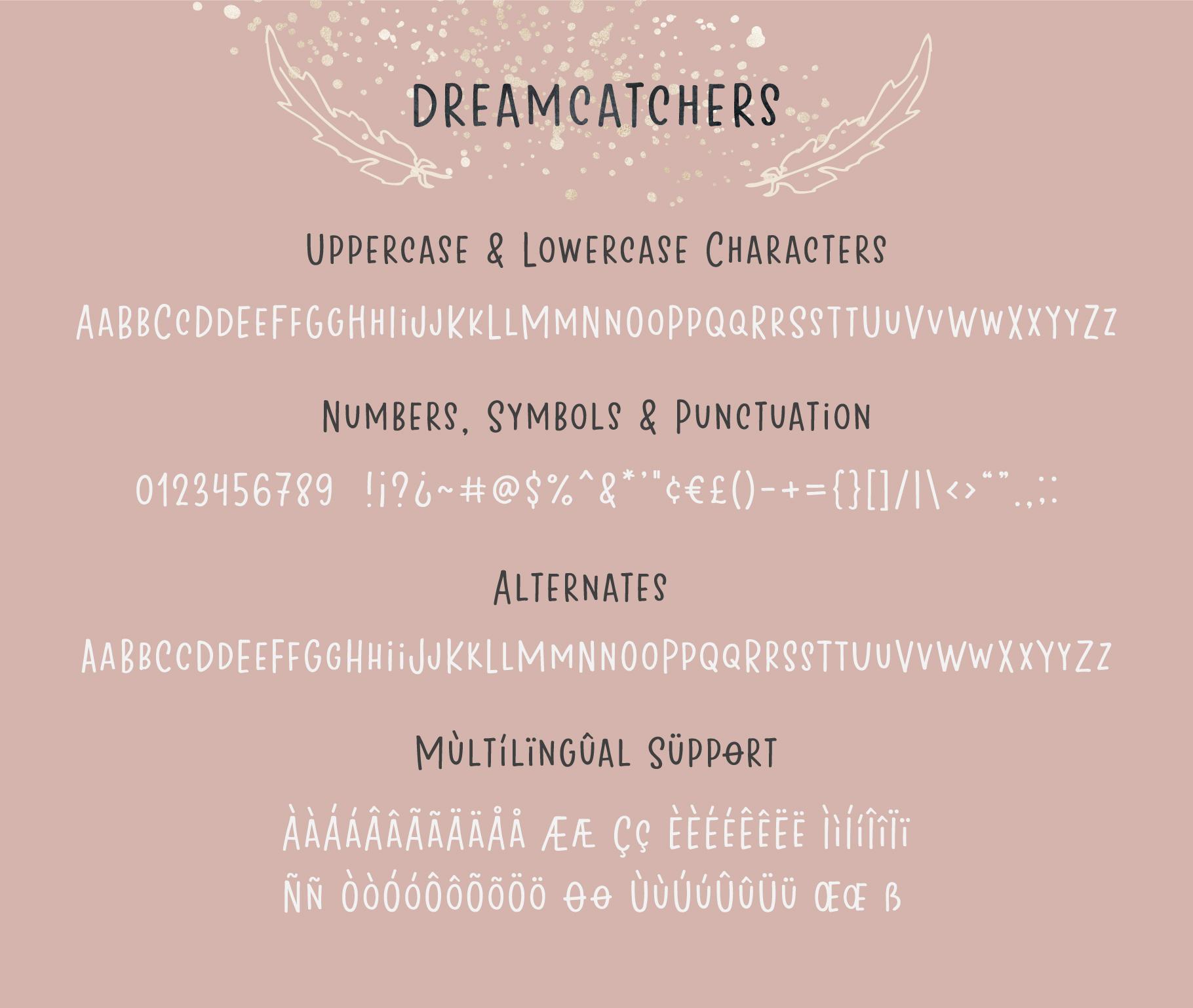 Dreamcatchers | A Playful Sans Serif example image 7
