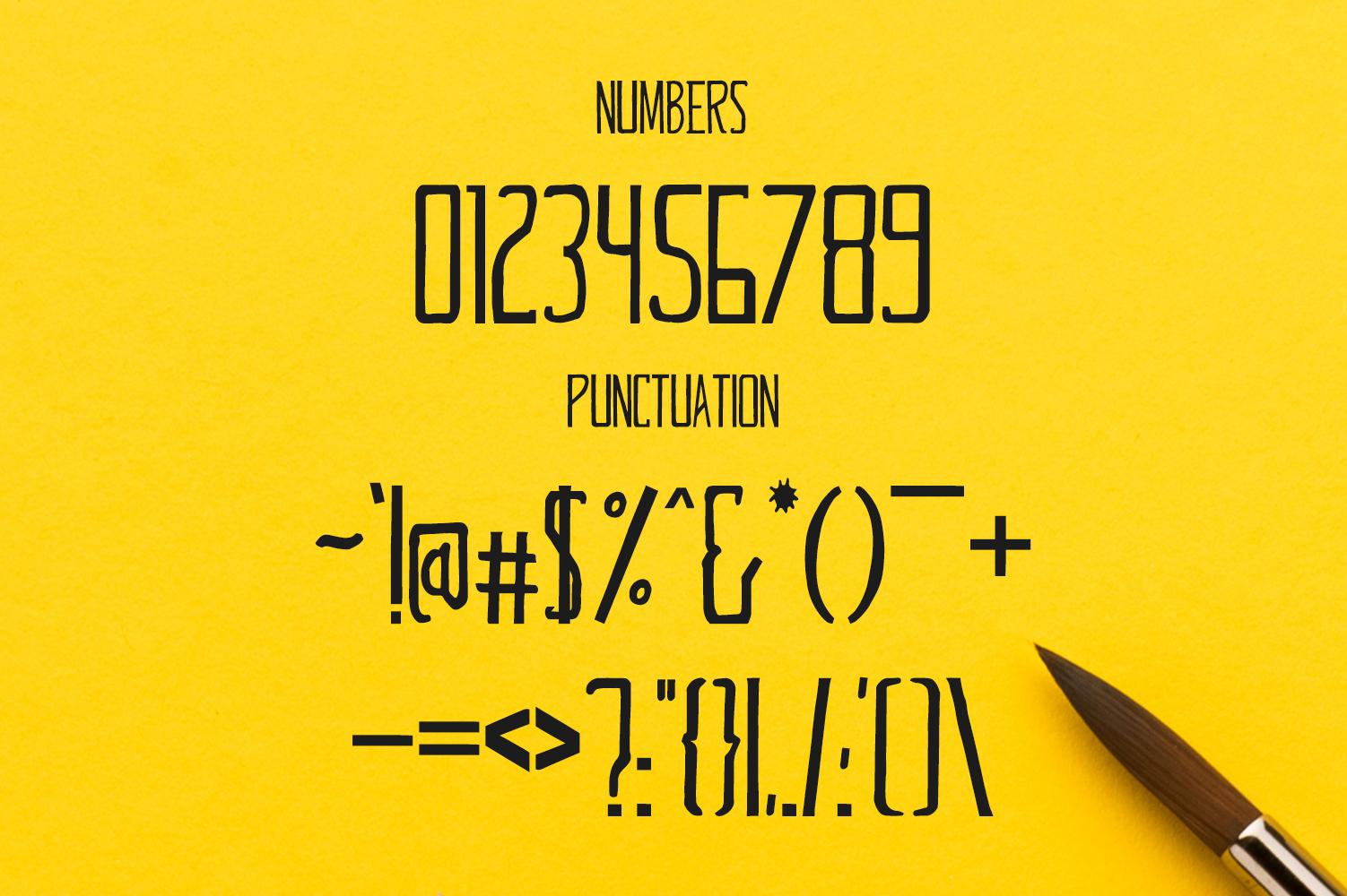 Glennda Handmade Serif Typeface example image 3