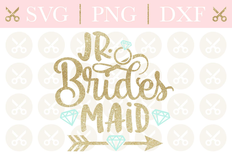 Junior Bridesmaid Svg Wedding Svg Jr. Bridesmaid Svg example image 1