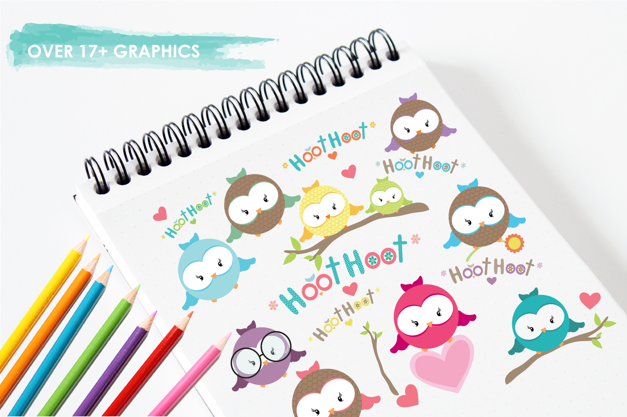 Hooties graphics and illustrations example image 3