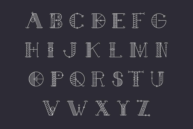 Alchimique Decorative Font example image 3