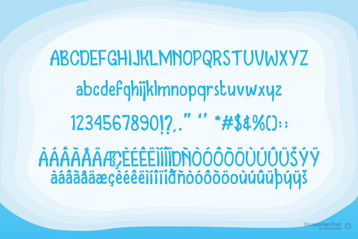 Backpacker - Fun Display Font example image 4