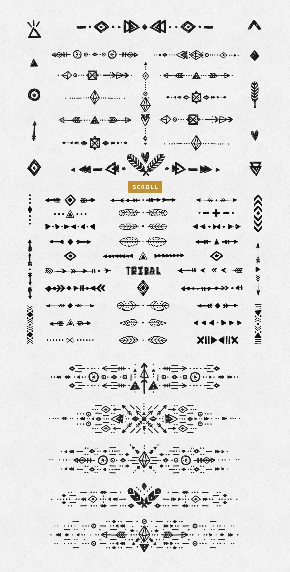 Tribal bundle example image 4