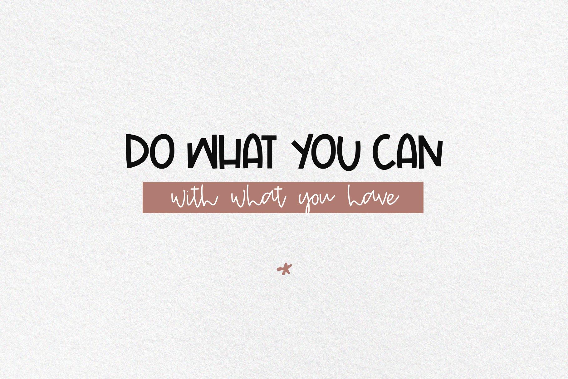 Wild One- Handwritten Script & Print Font Duo example image 6