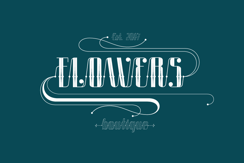ROADSTER typeface example image 8