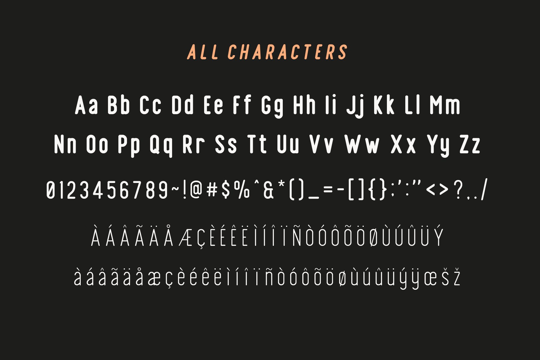 Finland Rounded - Font Family example image 8