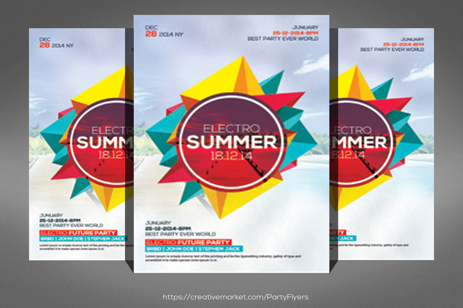 Big Summer Party Flyer example image 1