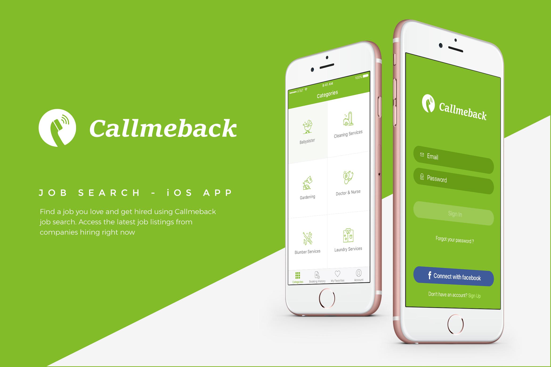 Callmeback Job Search example image 1