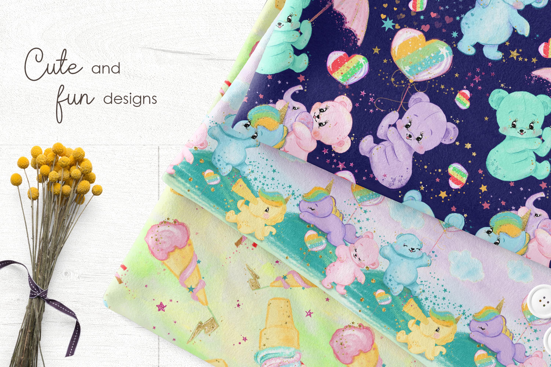 Bear and Unicorn Patterns example image 6