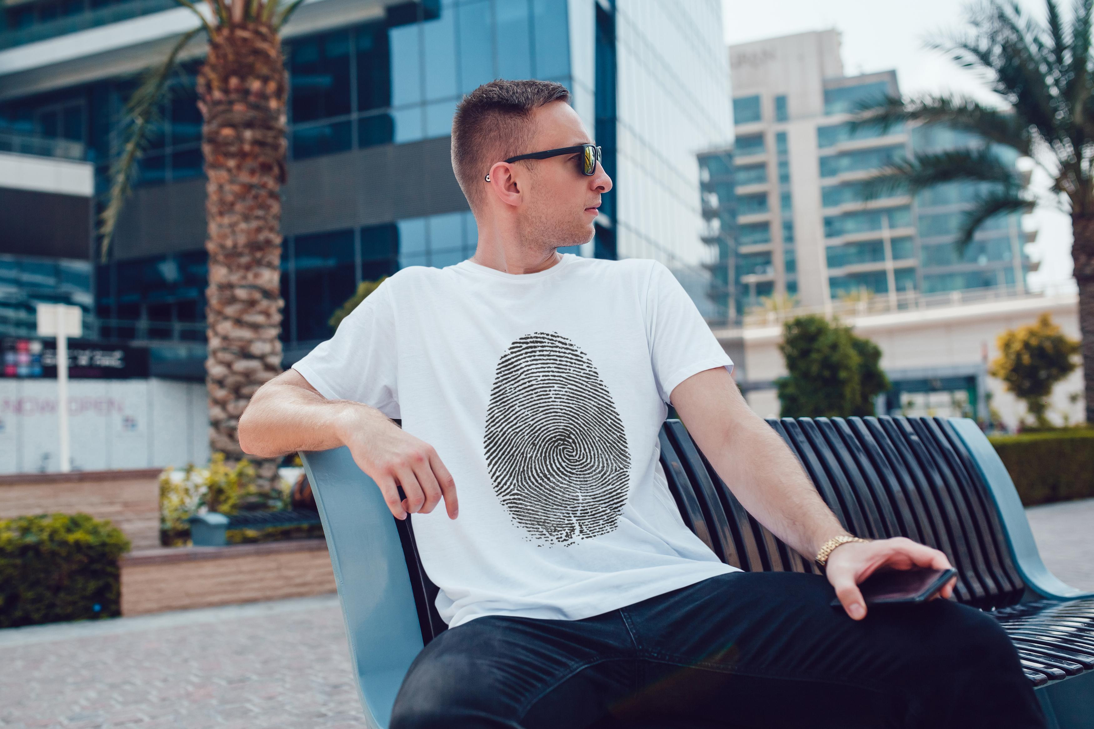 Men's T-Shirt Mock-Up Vol.5 2017 example image 12