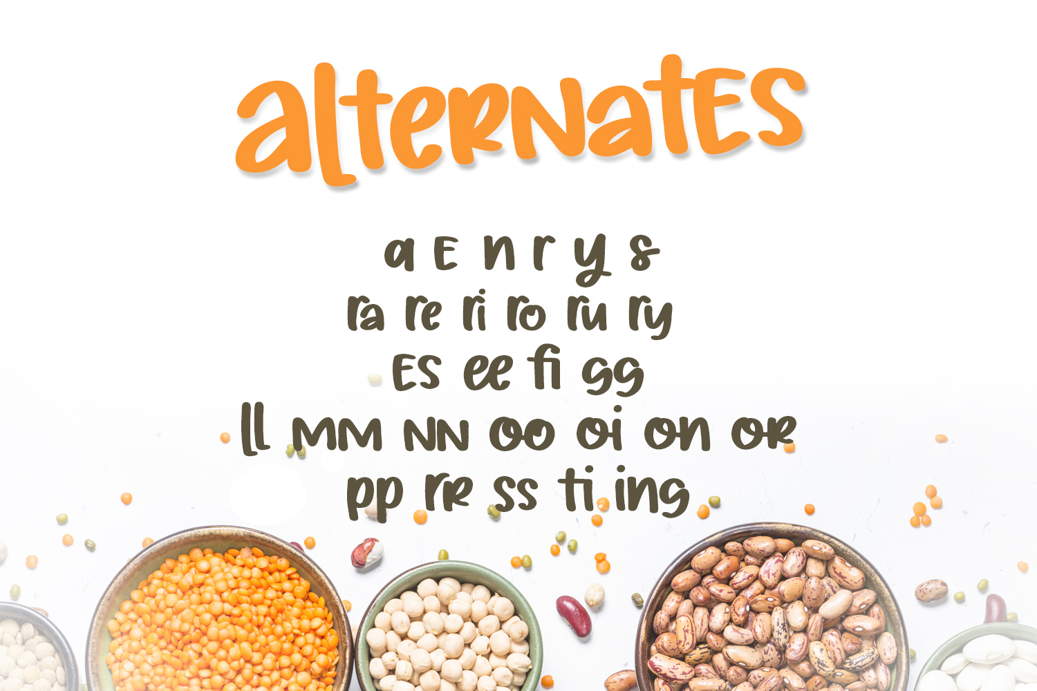 Silly Beans Font example image 3