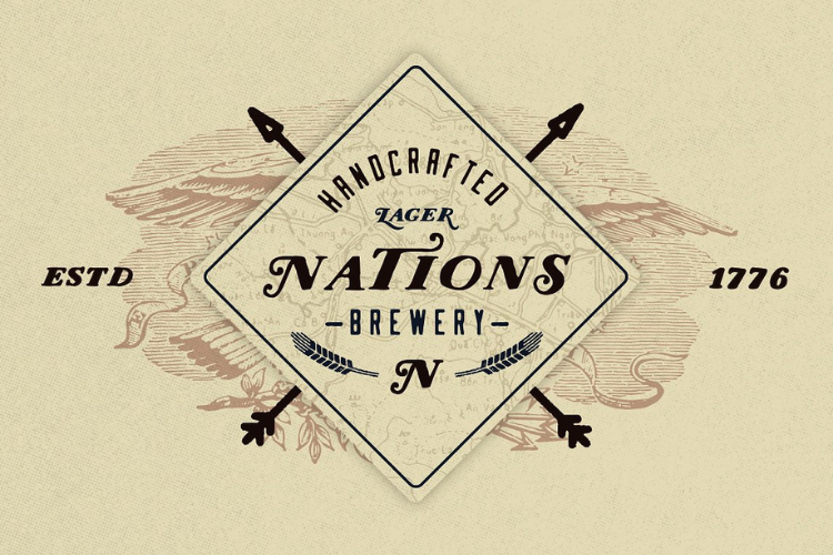 Nations - Hand Drawn Font example image 2