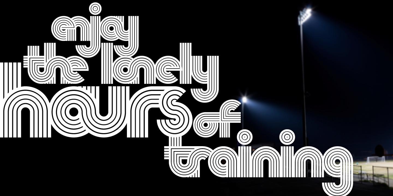 Nedo typeface layout 1