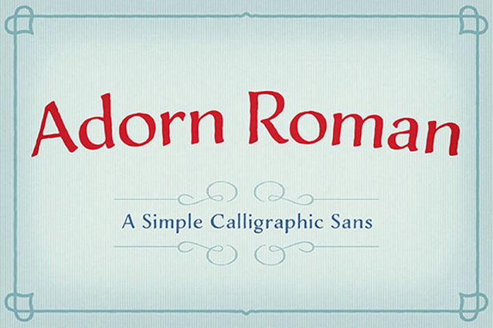 Adorn Roman example image 1