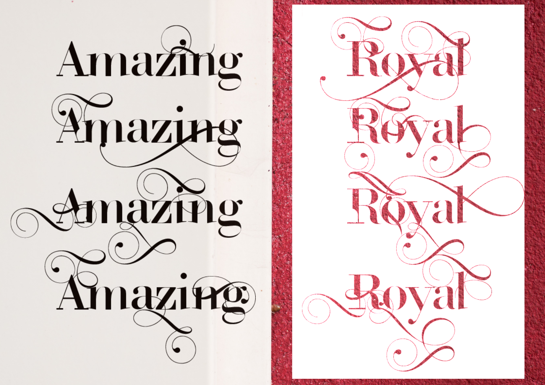 ROYAL TYPEFACE FONT (50% OFF) example image 9