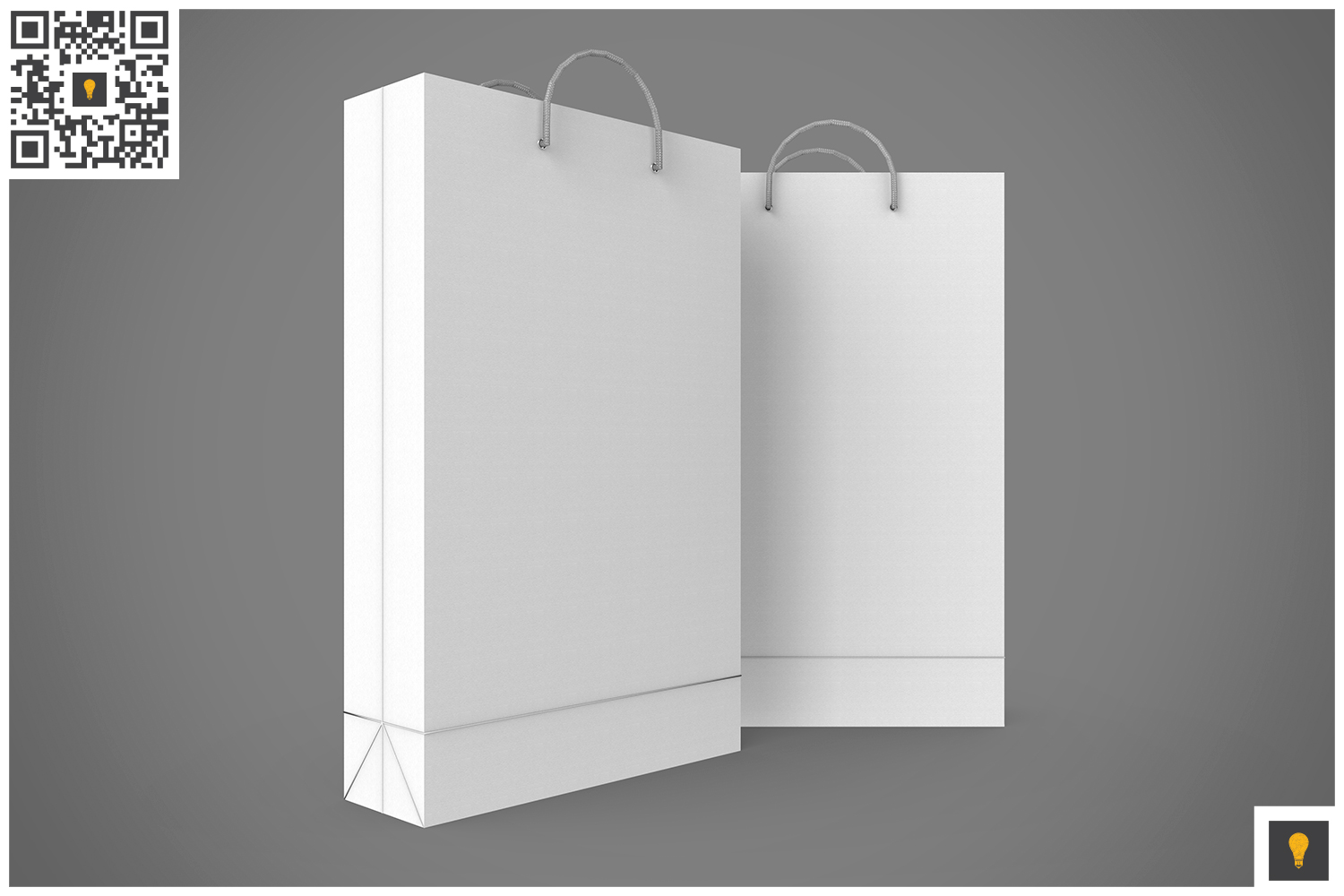 Shopping Bag 3D Render example image 17