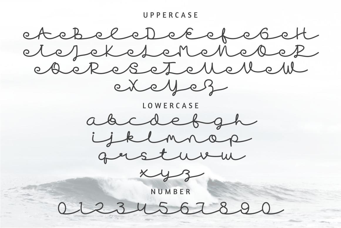 Skywave Typeface example image 5