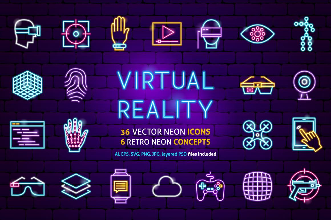 Virtual Reality Neon example image 1