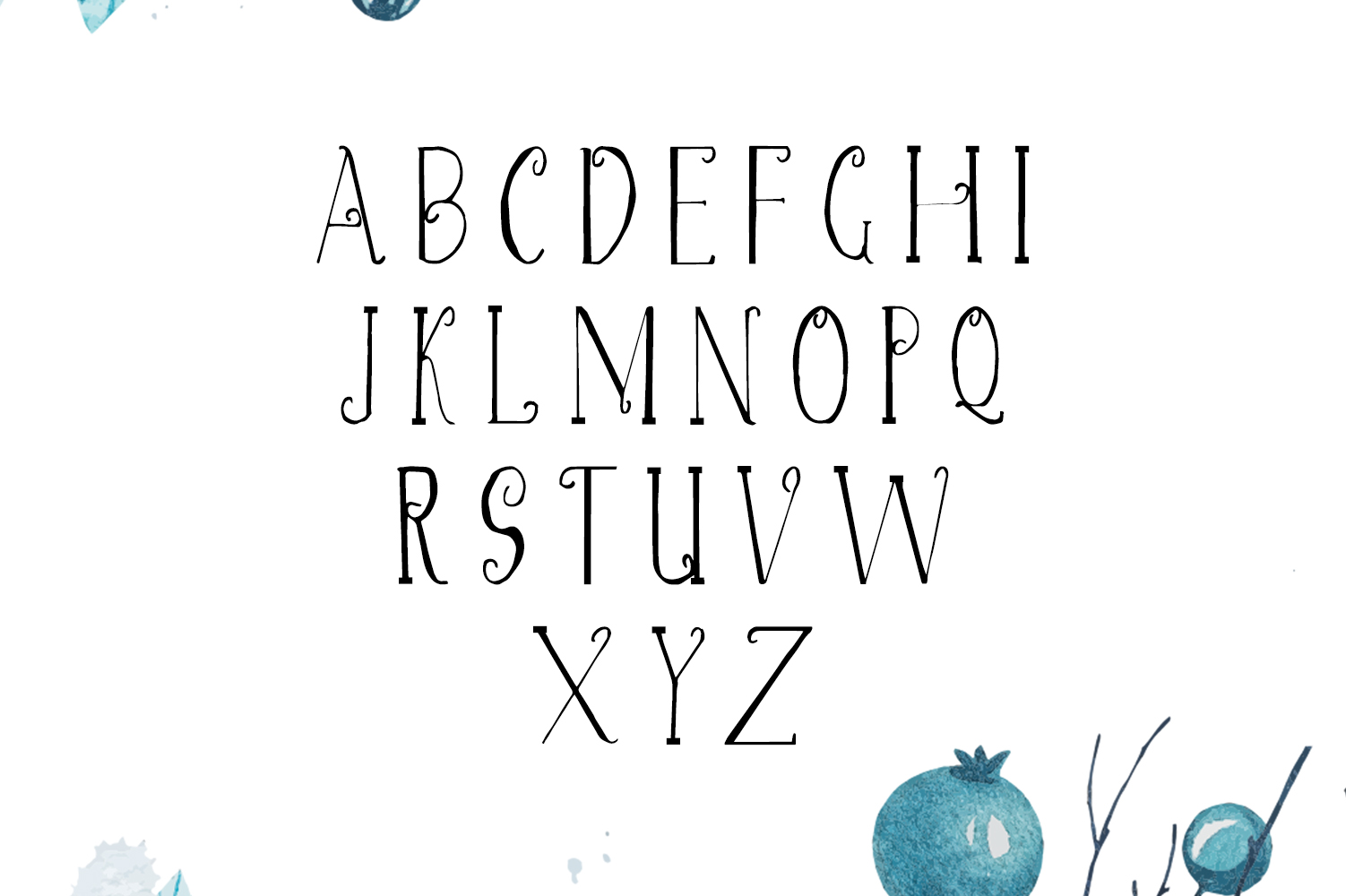 Christmas Script Font example image 2