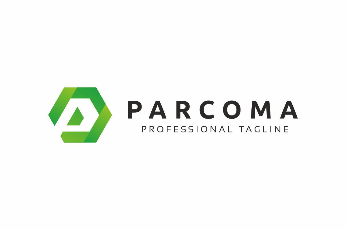 Parcoma P Lettre Logo example image 3
