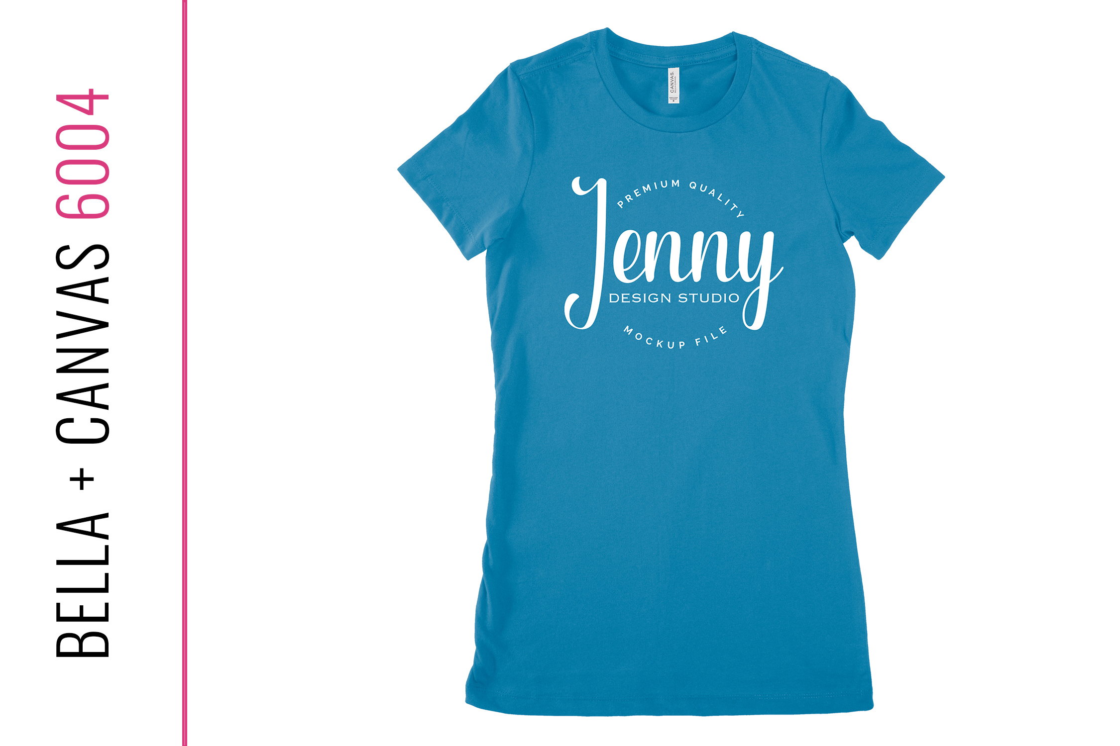 Bella Canvas 6004 Unisex Mockup Bundle, Womens T-Shirt example image 4