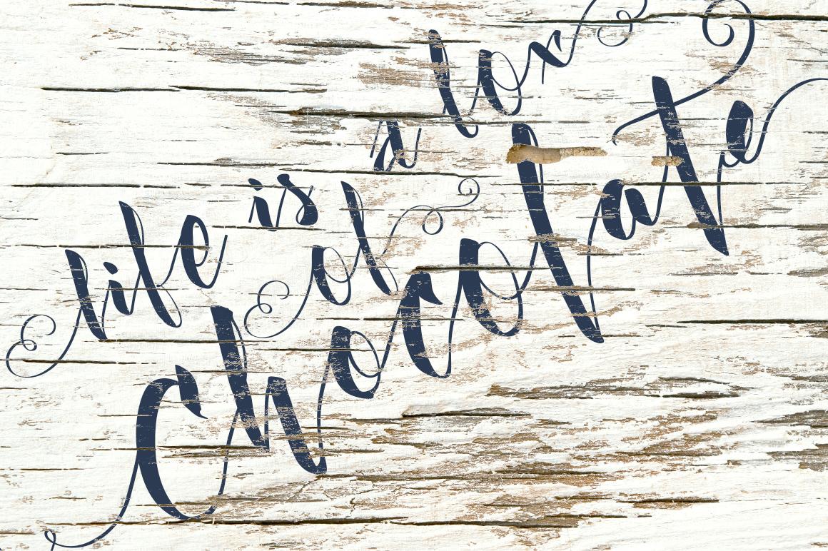 Kexman font + Cupcake photos example image 5
