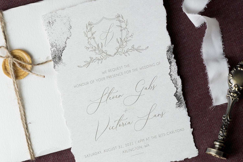 Modern Sketch - Wedding Set example image 1