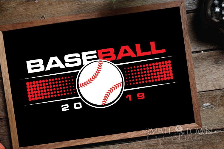 Baseball, Ball sport, Sports, Team logo, PRINT, CUT & DESIGN example image 3
