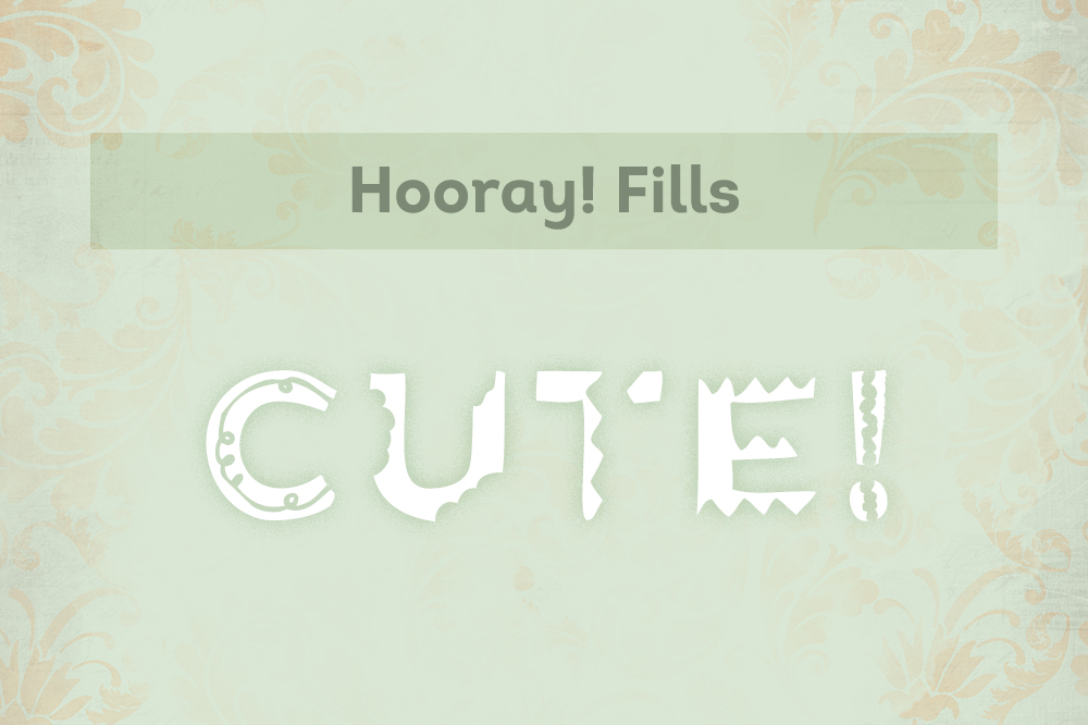Hooray! Hand drawn font example image 2