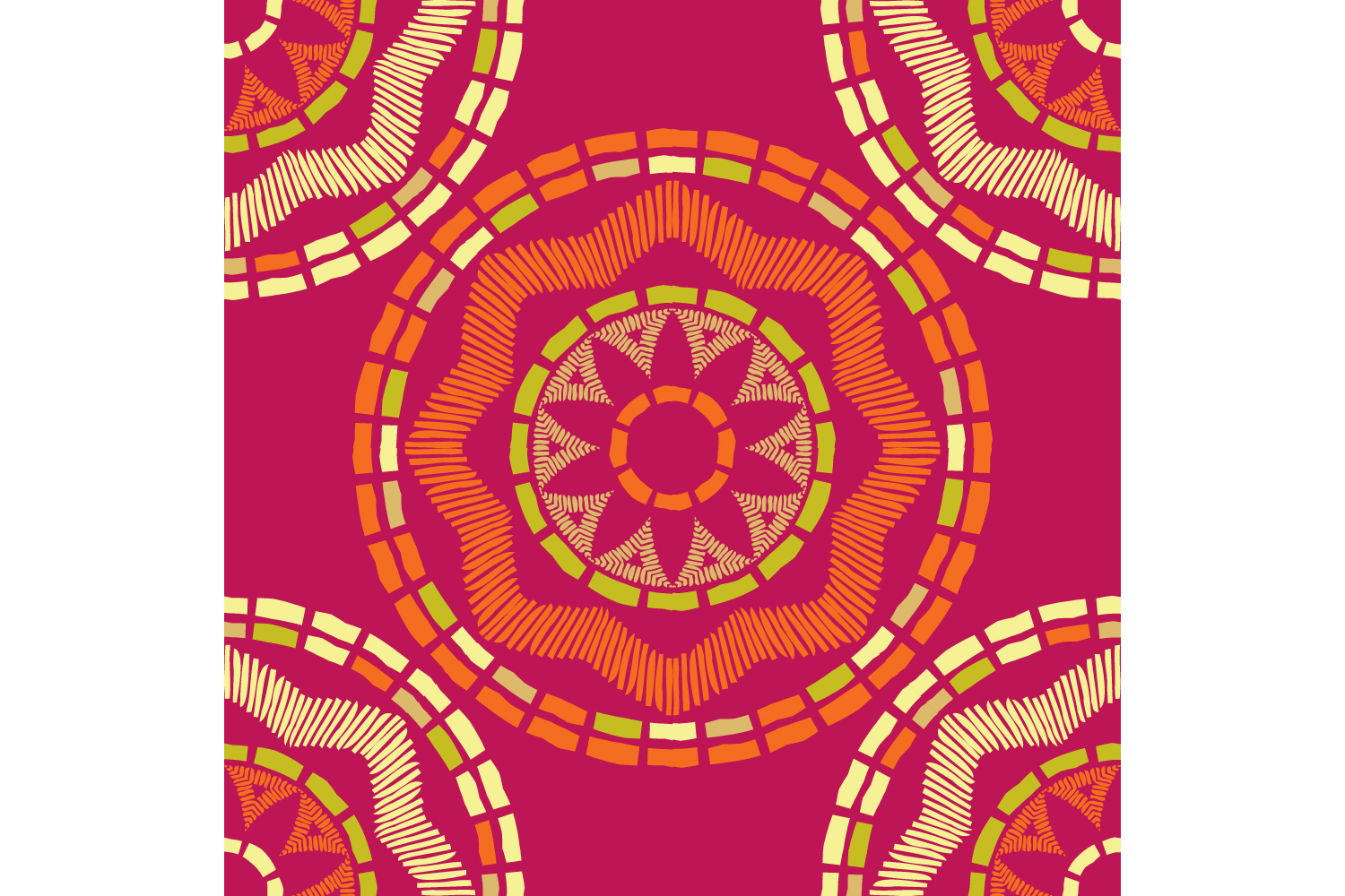 Ethnic boho ornament. Set of 10 seamless patterns. example image 9
