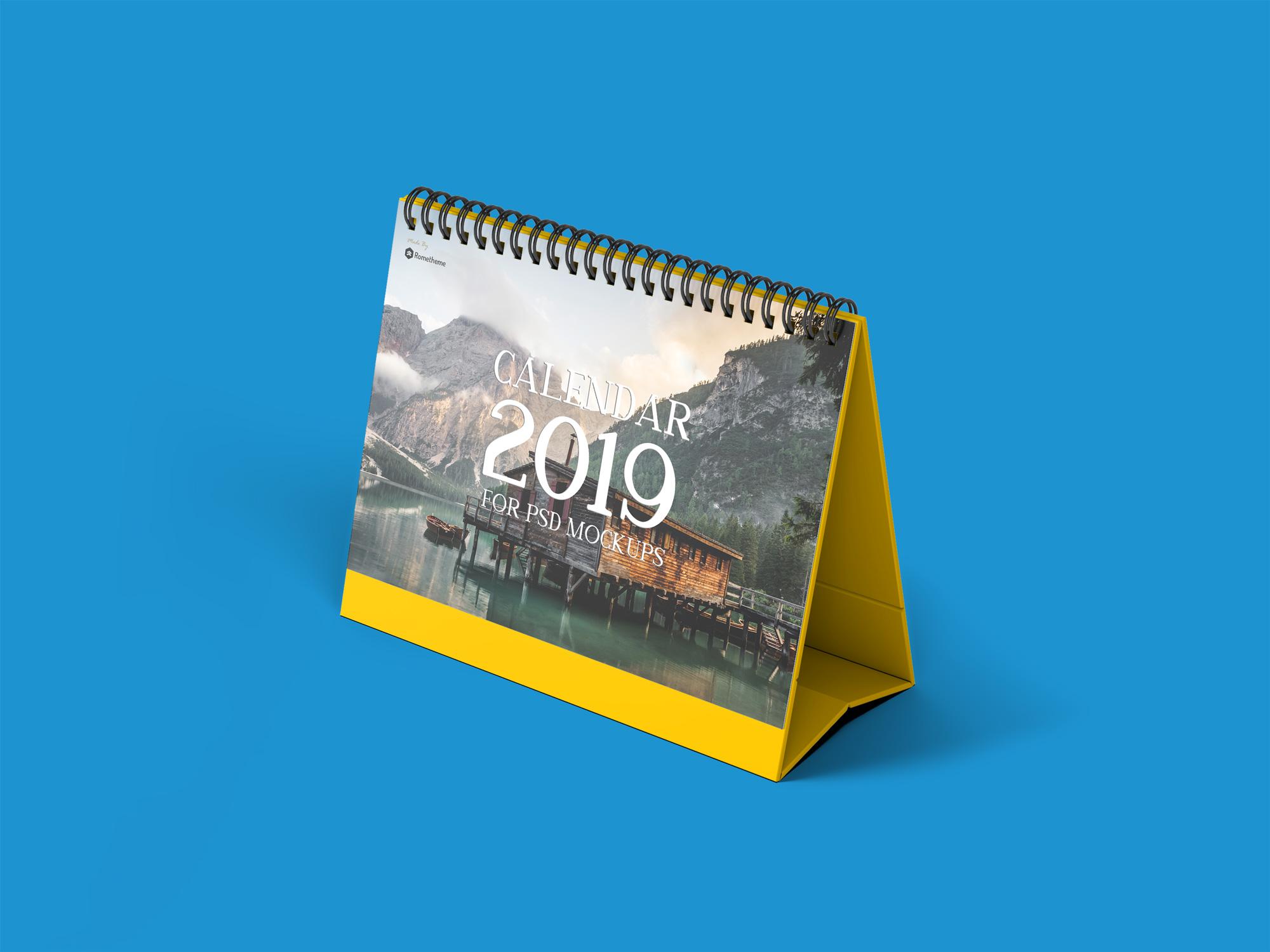 Calendar Table Mockups vol.1 example image 3