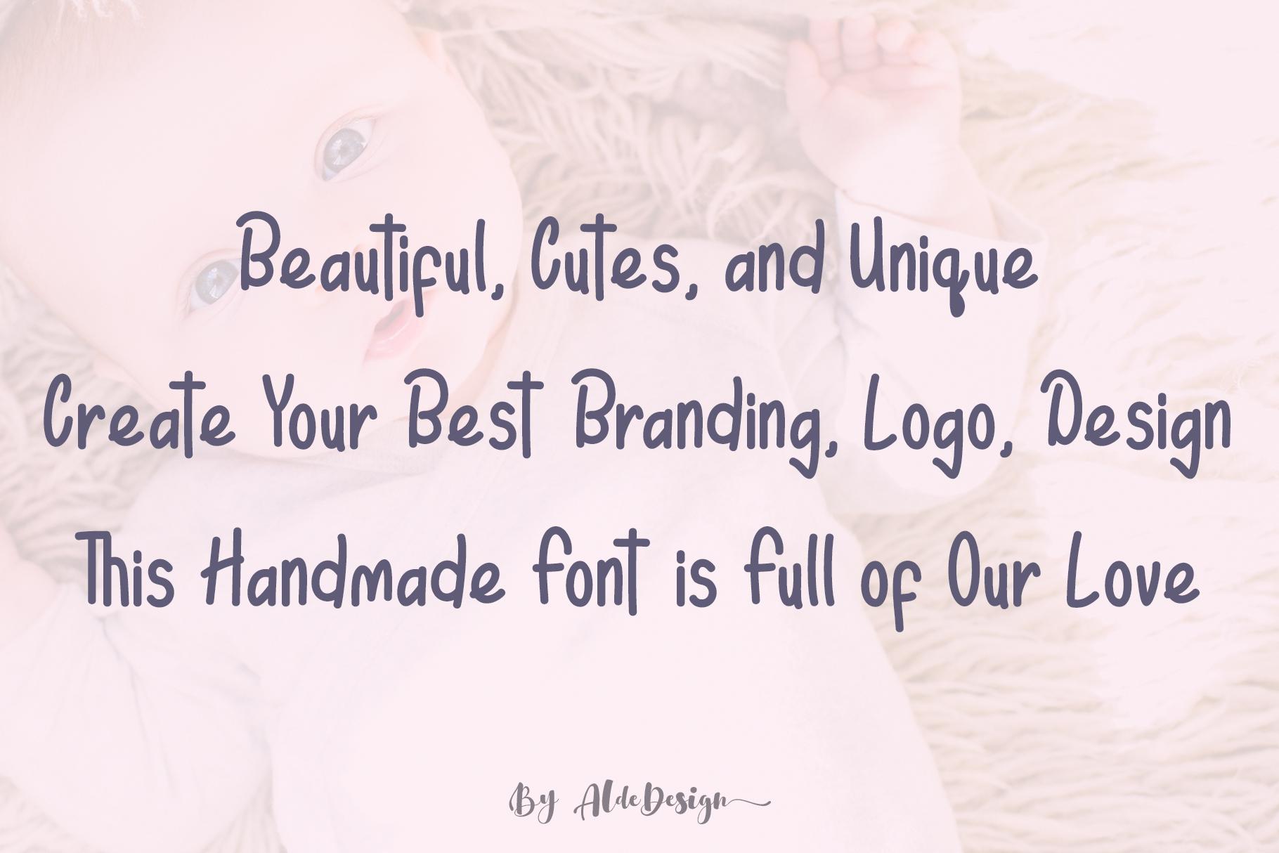 Elyn Alina - Handmade Font example image 3