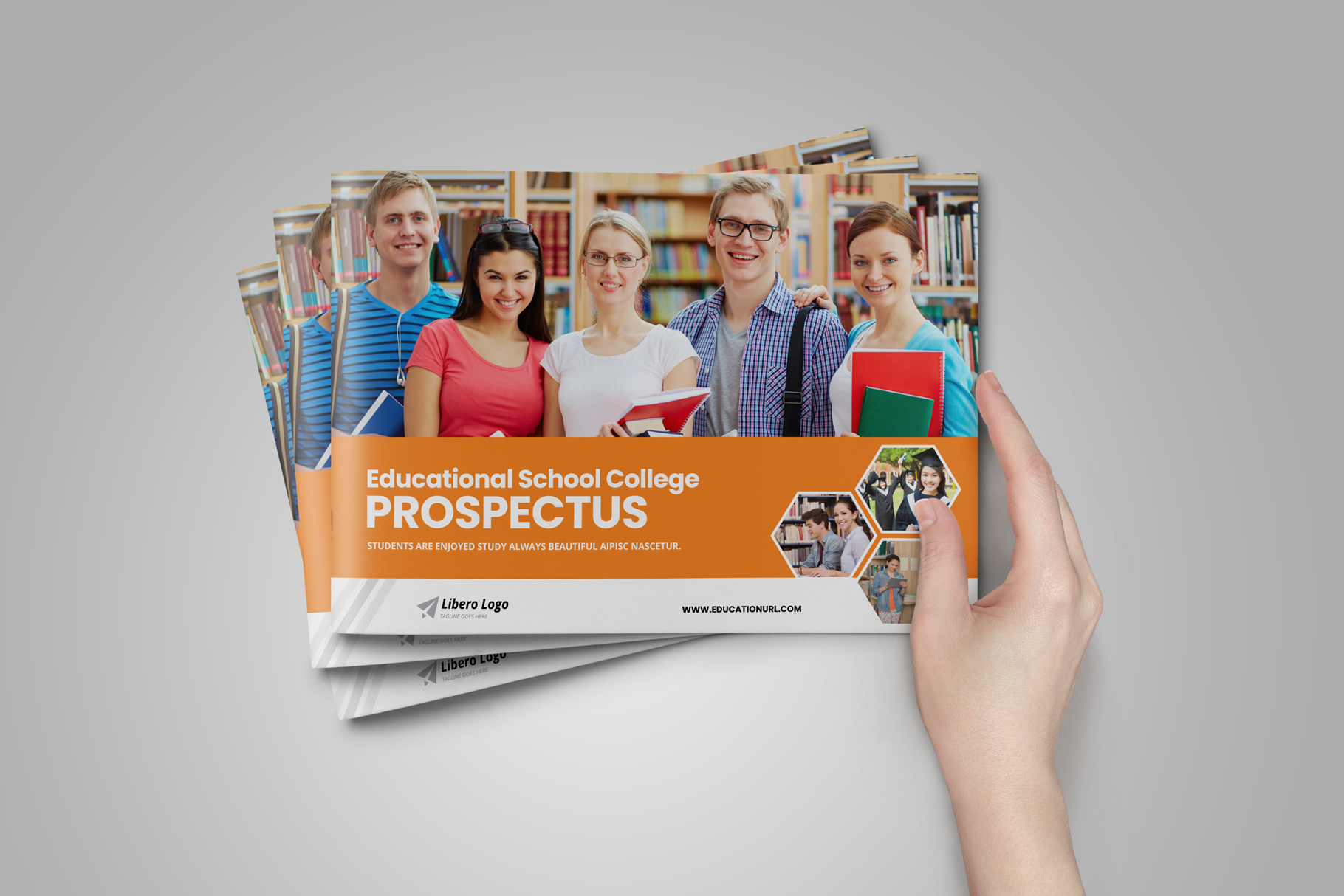 Education Prospectus Brochure v6 example image 2