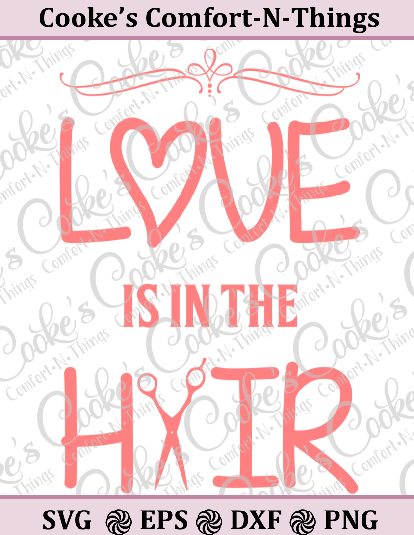 Love is in the Hair example image 1