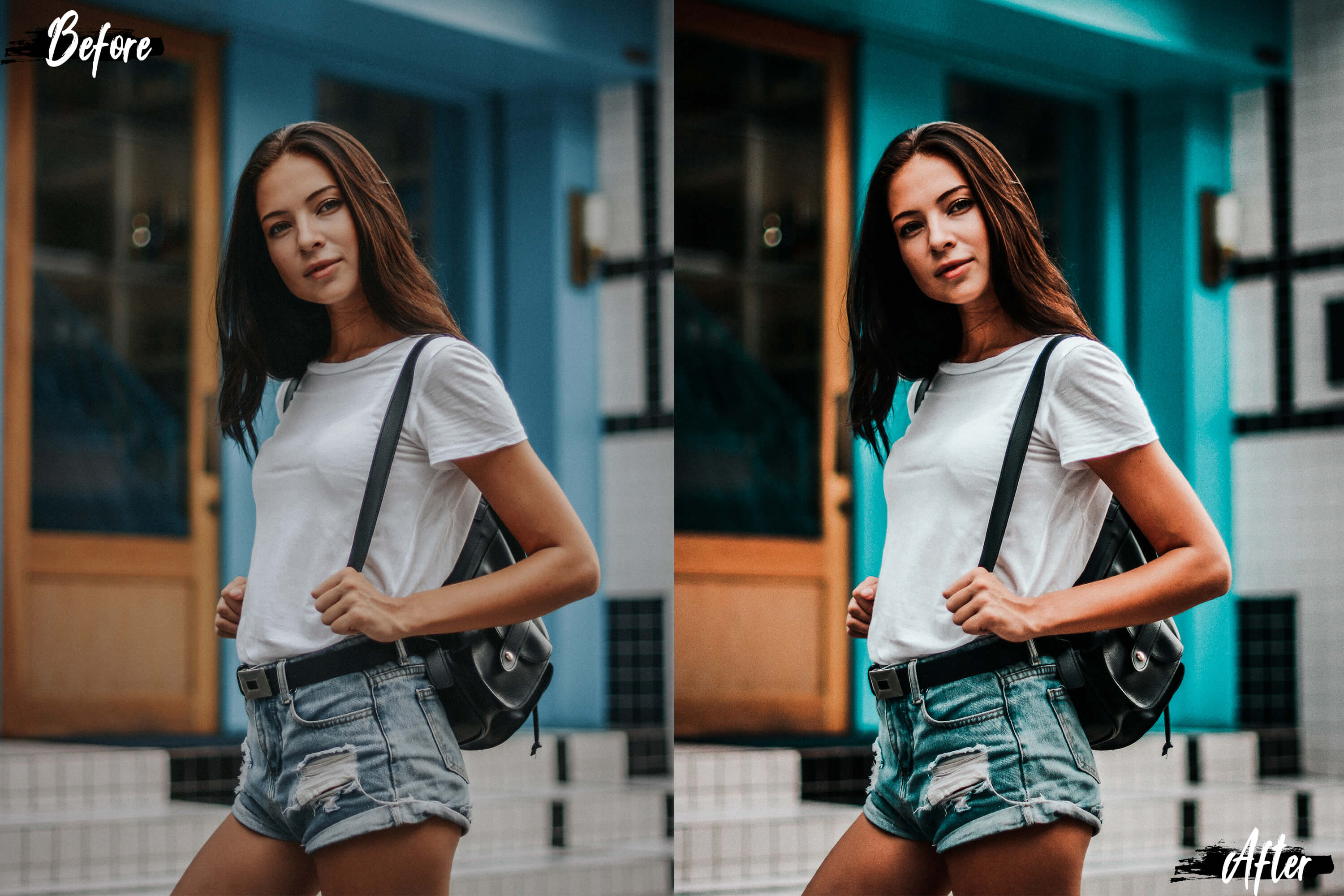 5 White Land Actions, ACR and LUT presets example image 5