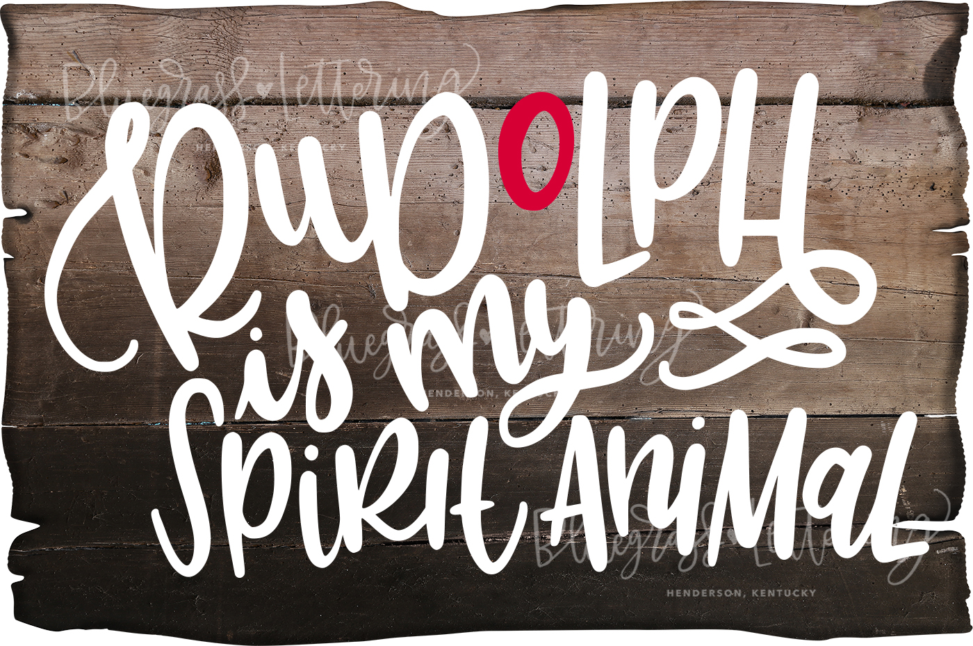 Handlettered Christmas SVG Pack example image 1