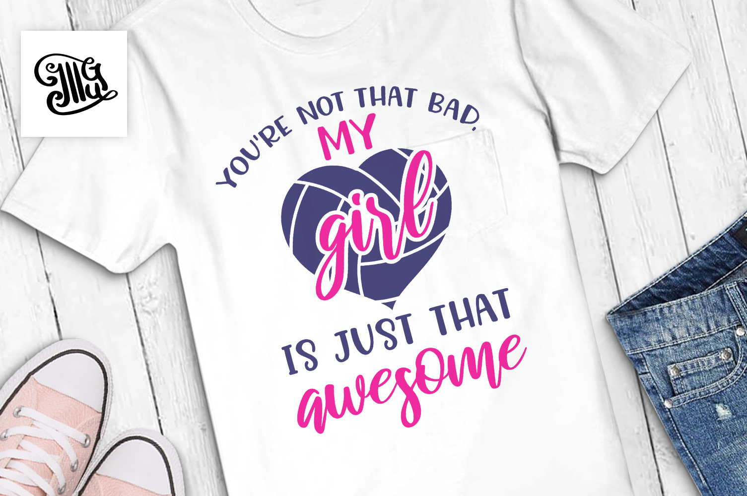 You're not that bad, my girl is just that awesome example image 1