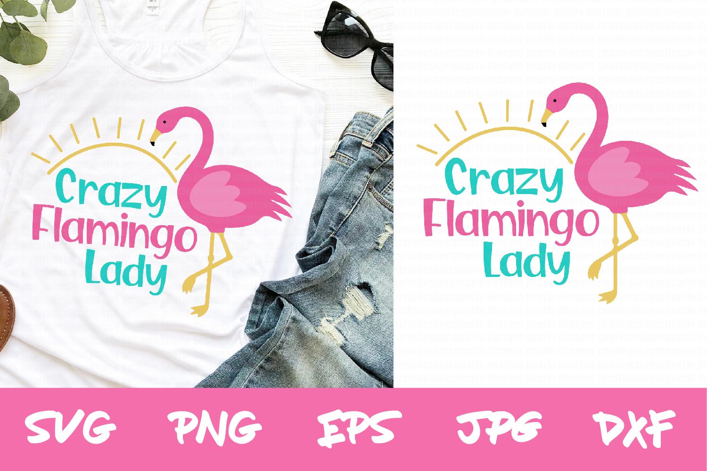 Flamingo svg, cricut svg, silhouette svg, sublimation files example image 1