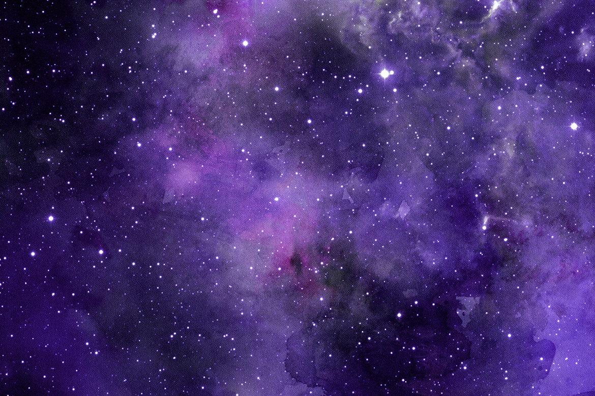 Space Watercolor Backgrounds example image 5