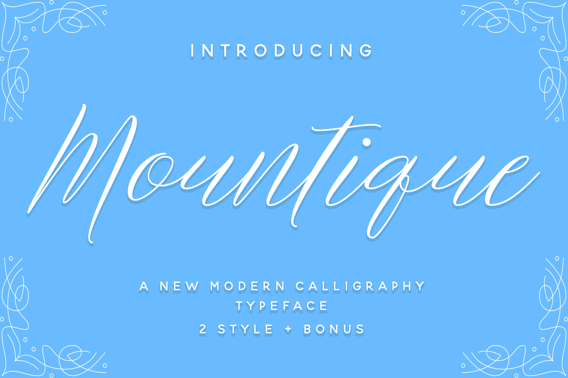 Mountique Typeface example image 1