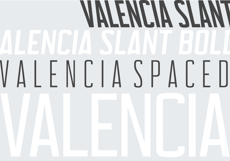 Valencia Font - Sans Serif - 10 Styles example image 3
