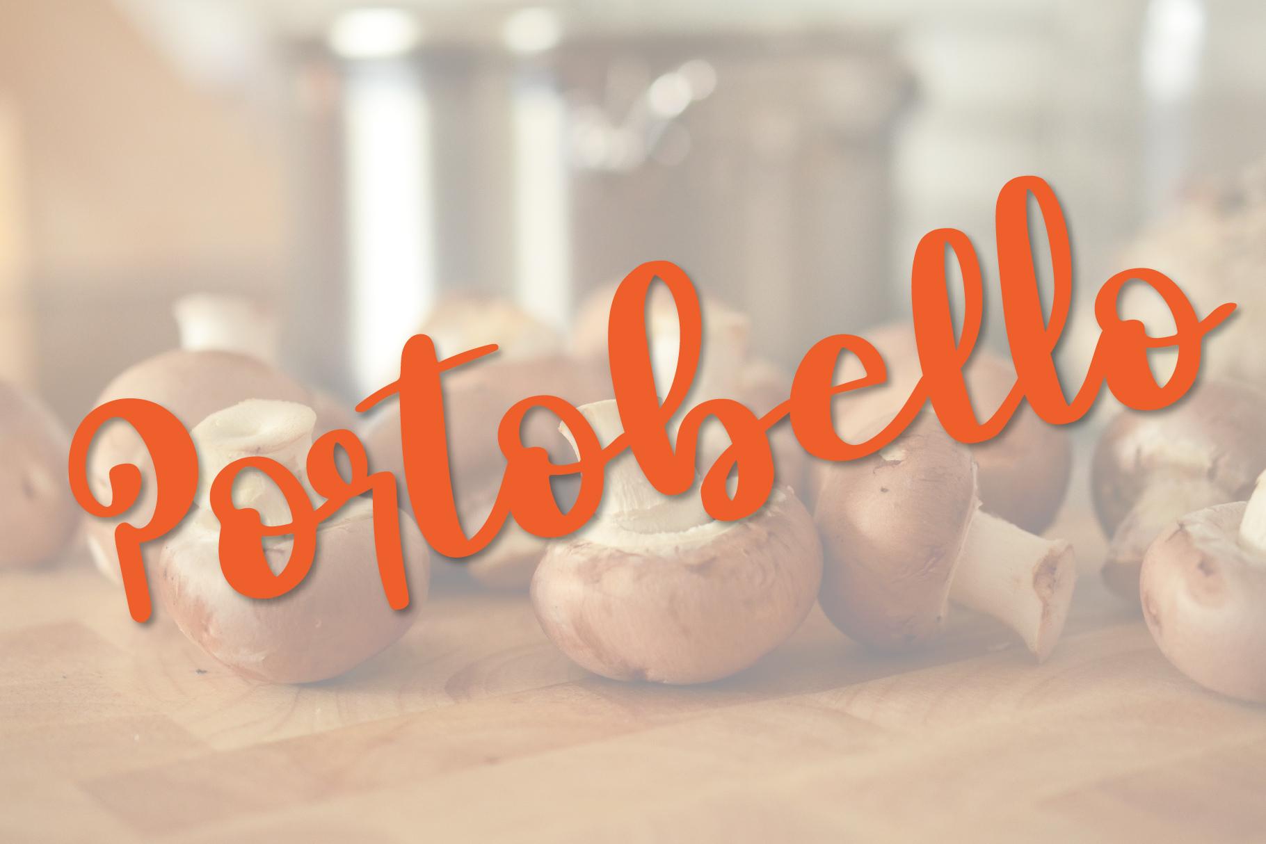 Mushroom Growing Script Font example image 5