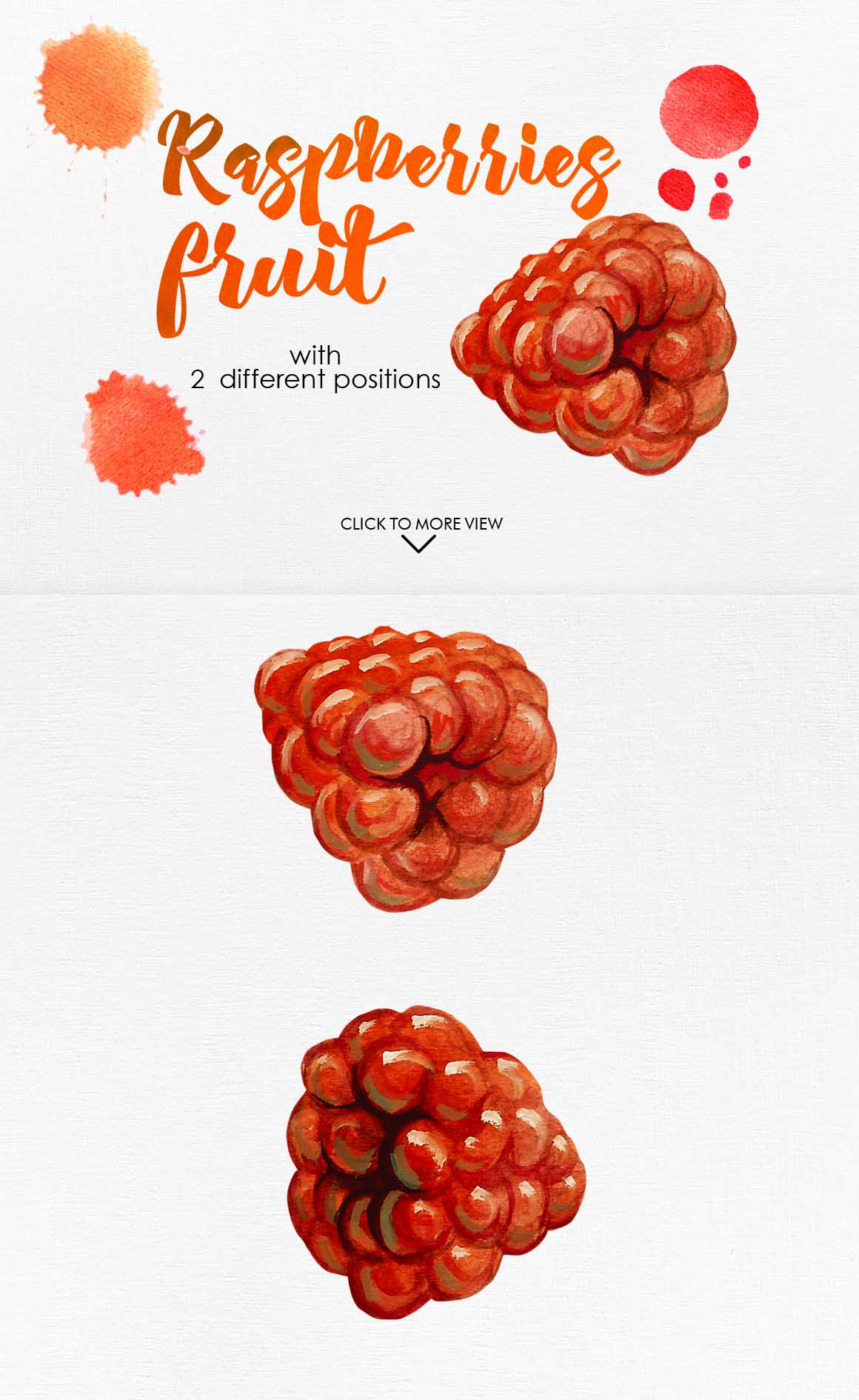 Watercolor Fruits Vol. 3 example image 12