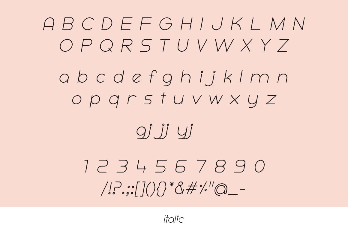 Ooh! Rounded Sans Serif Typeface example image 7