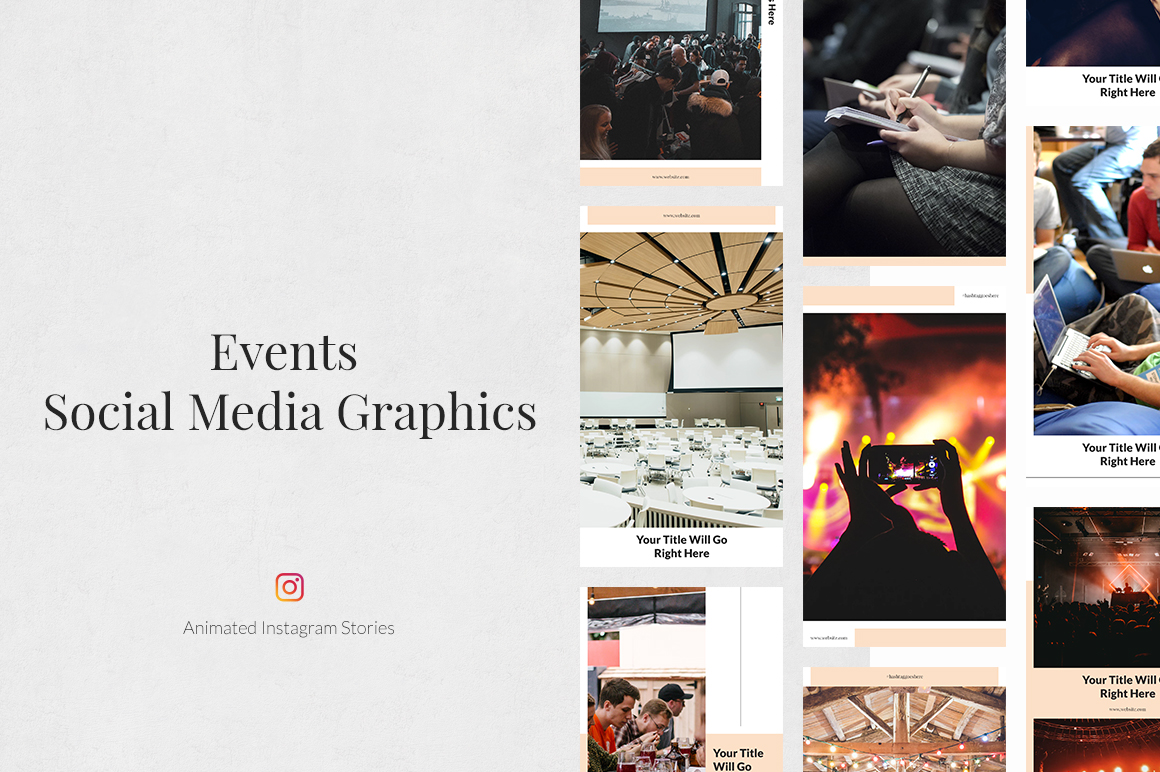 Events Animated Instagram Stories example image 1