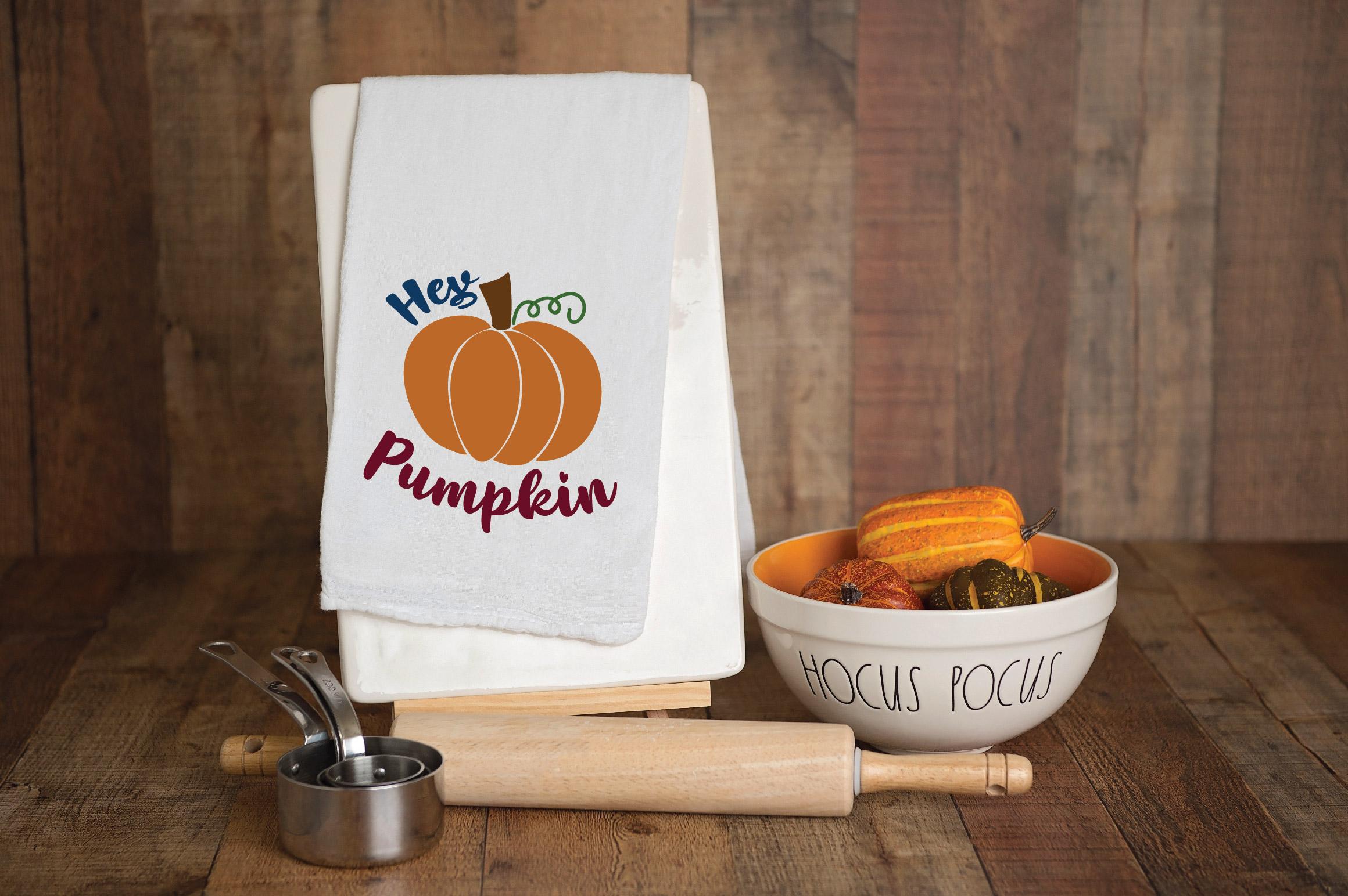 Hey Pumpkin SVG Cut File - Fall Pumpkin SVG example image 9