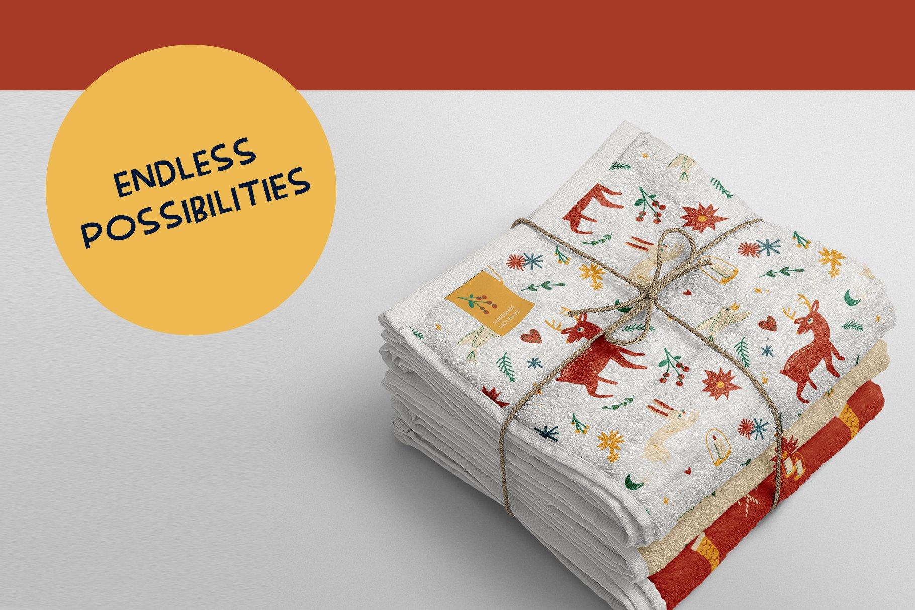 Handmade Holiday Illustrations example image 6