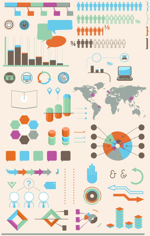 infographics vector set2 example image 3